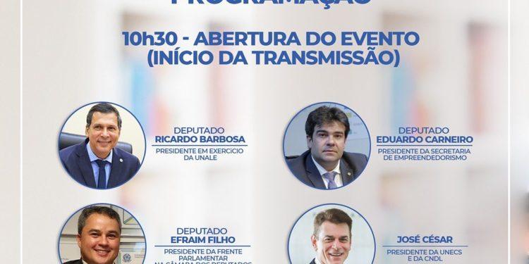 217181639 842281866704112 5625605899921205814 n 750x375 1 - Eduardo Carneiro debate hoje Plano Nacional de Retomada Econômica durante Fórum de Desenvolvimento e Empreendedorismo