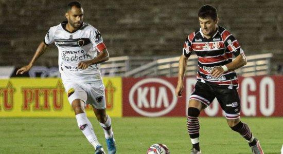 4221fa5dc9 design sem nome 38 - Santa Cruz perde para o Botafogo-PB e caminha a passos largos rumo a Série D