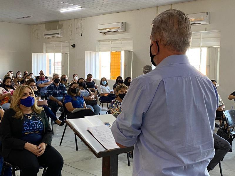 5 - Secretaria de Educação de Patos realiza encontro pedagógico e abertura do segundo semestre