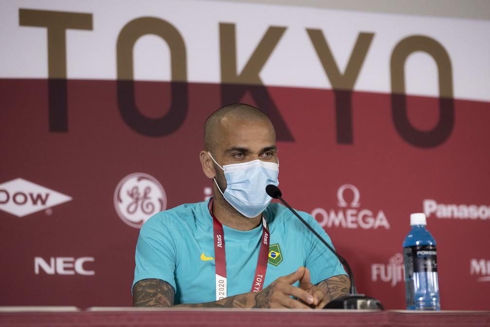 """51325543283 231657eb44 k - """"Sou como o Benjamin Button"""", diz Daniel Alves, antes da estreia da Seleção nas Olimpíadas"""