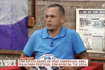 """""""PRETO NEM É GENTE"""": Ex-jogador e comentarista Souza é vítima de racismo e xenofobia durante transmissão de jogo"""