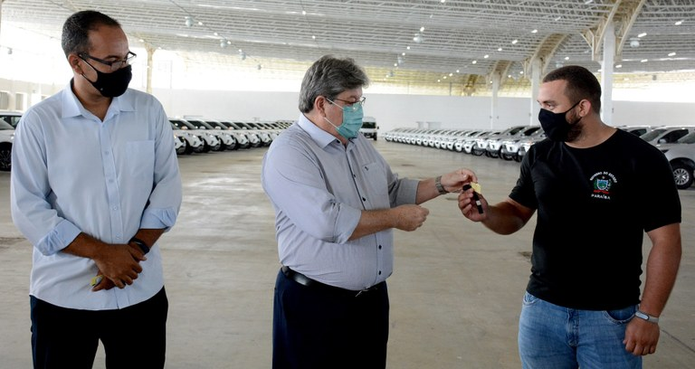 8e4f8eb4 4d57 4d8f a6b0 6f5a41486861 - João Azevêdo entrega 178 veículos destinados às gerências regionais de Saúde, Hemocentro e hospitais da Paraíba
