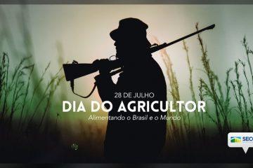 """Governo Federal divulga imagem de homem armado em """"homenagem"""" ao Dia do Agricultor"""