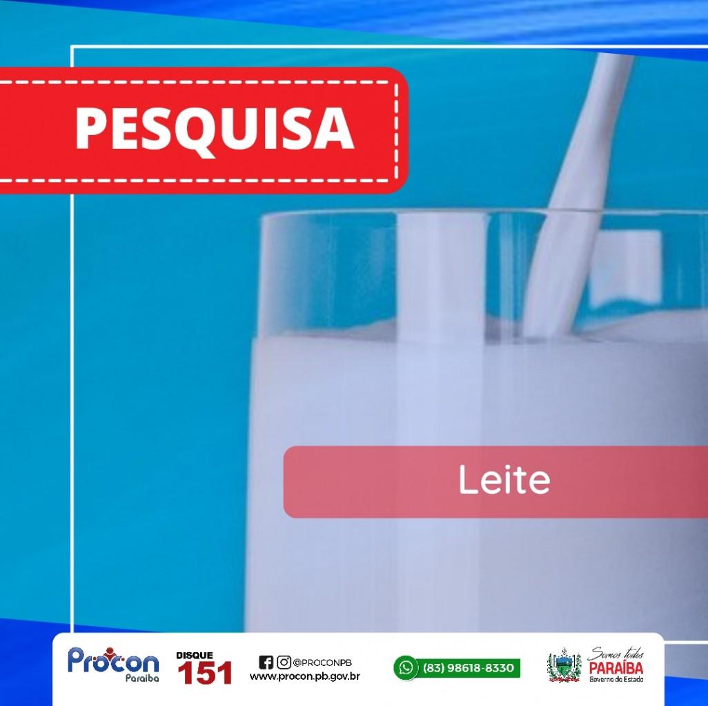 Arte Pesquisa leite iogurte - Procon-PB realiza pesquisa sobre os preços dos leites e iogurtes em João Pessoa e constata variação de até 46,62%