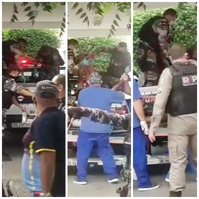 Bandiso mortos ed - ASSALTO FRUSTRADO: Homens são mortos em confronto com a polícia na cidade de Patos - VEJA VÍDEO