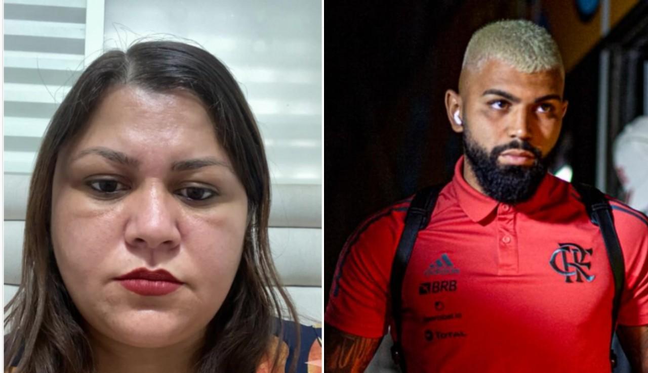 BeFunky collage 2 - Sensitiva prevê queda de avião e pede que Gabigol não viaje com o Flamengo - VEJA VÍDEO