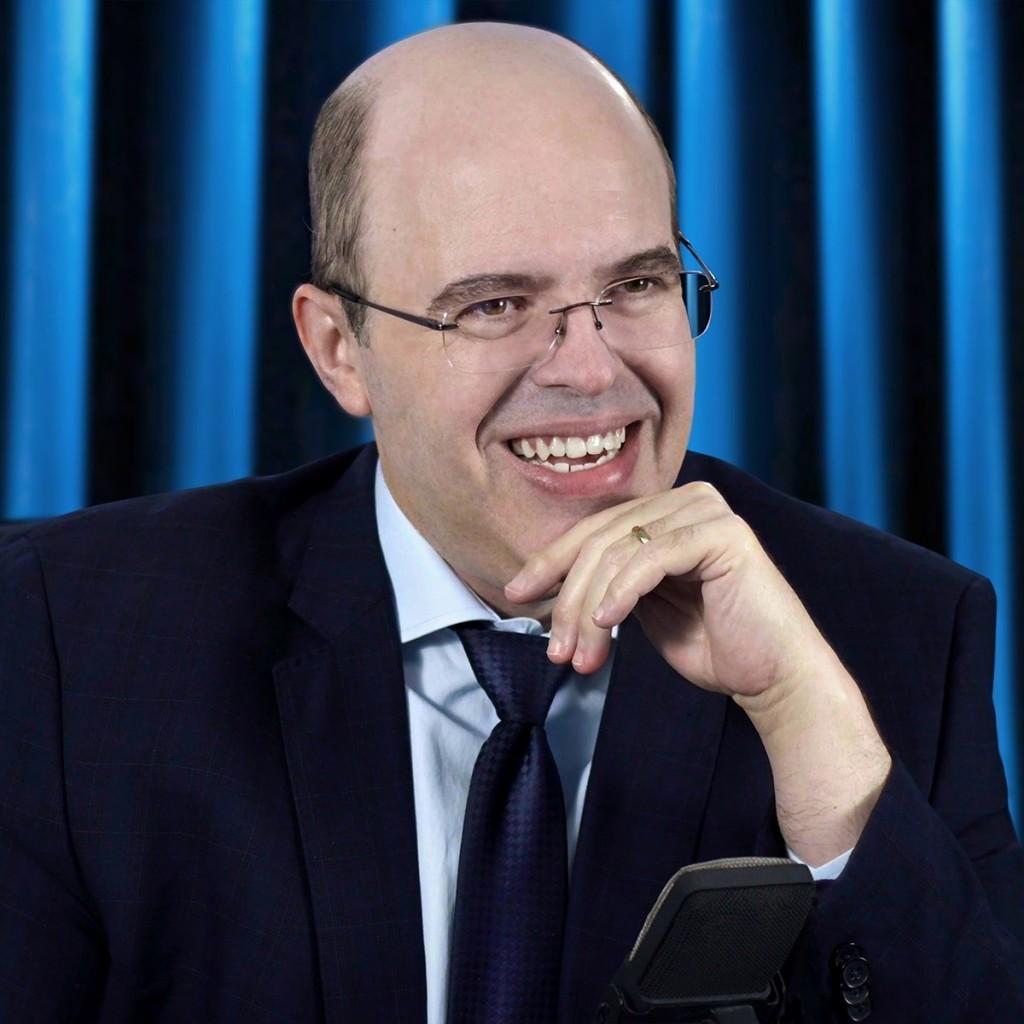 Benjamin Teixeira de Aguiar em palestra proferida em setembro de 2020 - Médium brasileiro que atende a ONU afirma que Lula é D. Pedro 2º reencarnado e faz revelações - VEJA