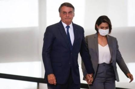 Captura de tela 2021 07 19 064536 - Casamento de Michelle e Jair Bolsonaro atravessa crise, diz colunista