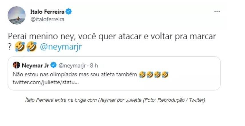 """Capturar 113 - Juliette 'dá fora' em Neymar após flerte: """"Atleta ok, mas gato não sei, não"""""""