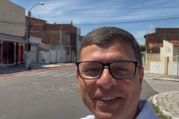"""Investimento de três milhões de reais: Prefeito de Cabedelo anuncia o plano """"Mais Asfalto"""""""