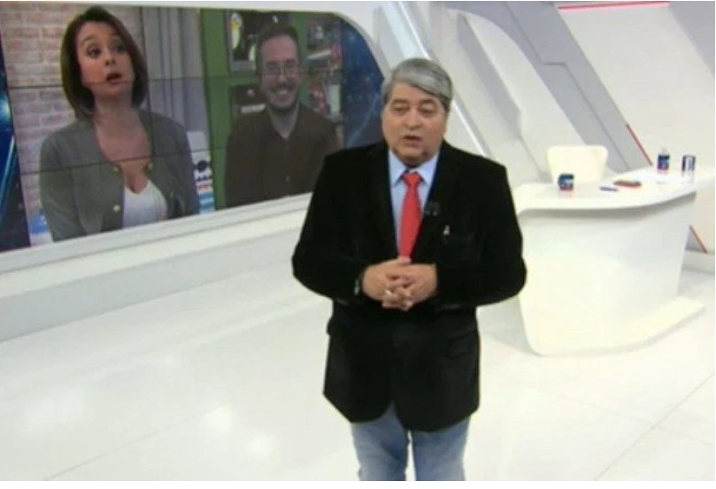 Capturar 2 - Datena usa o termo 'opção sexual' e Cátia Fonseca faz alerta