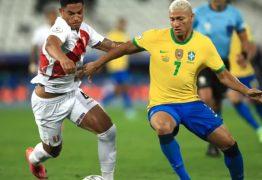 Brasil sobra no primeiro tempo, elimina Peru e vai à final da Copa América