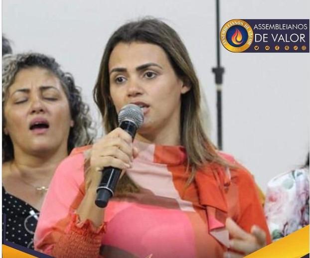 Capturar 6 - No comando da ADBrás Paraíba: após renuncia do pastor Samuel Mariano, esposa assume cargo deixado pelo marido