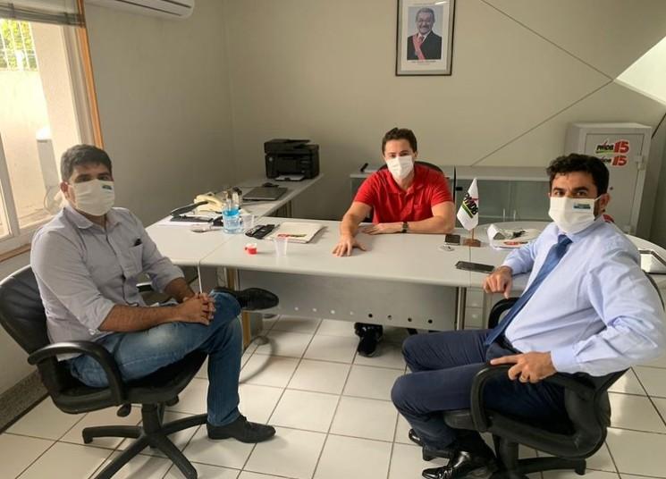 Capturar 89 - Ao lado de Veneziano, prefeito de São Bento anuncia investimento de 2,5 milhões para a cidade