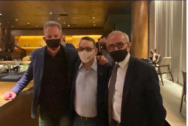 Cicero Landim - Com avanço da vacinação, Cícero encontra presidente do Flamengo e articula partida com público em João Pessoa