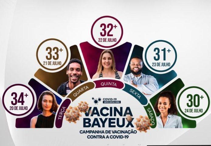 E023C69C 18E9 499D 98D2 D26C87368A17 696x850 1 e1626892927906 - COVID-19: Bayeux quer vacinar pessoas acima de 30 anos no sábado (24)