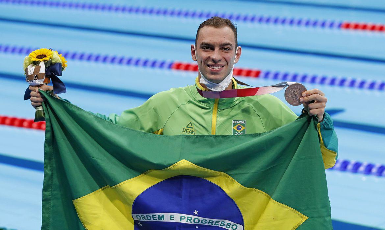 Fernando Scheffer Natacao Bronze - Além da medalha: atletas brasileiros podem faturar mais de R$ 250 mil por vitórias nas Olimpíadas