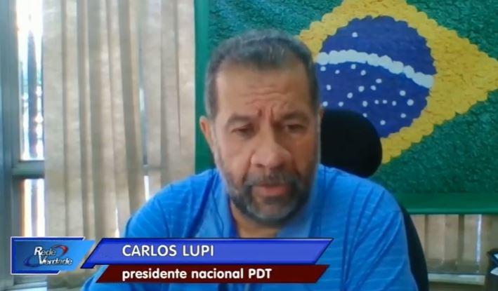 LUPI CARLOS - 'ELA TEM EXPERIÊNCIA E PREPARO': Carlos Lupi defende candidatura de Lígia Feliciano à governadora em 2022