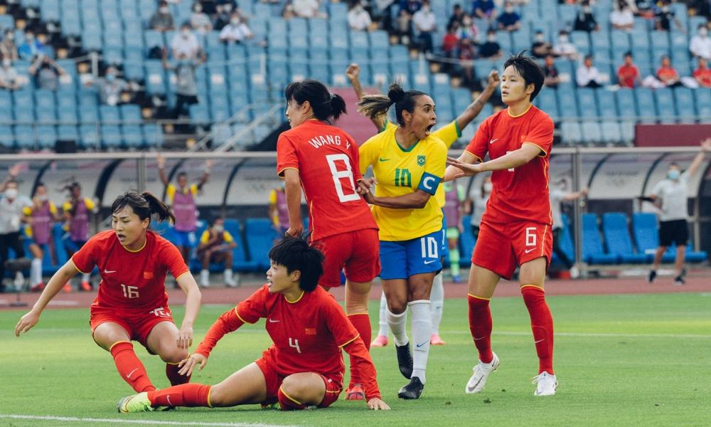Marta Selecao - Com dois de Marta, Brasil estreia com goleada sobre a China na olimpíada
