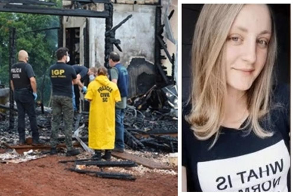 Mauriceia Estraich - Filha de bispo que morreu carbonizada em março foi queimada viva pelo cunhado, aponta Polícia Civil