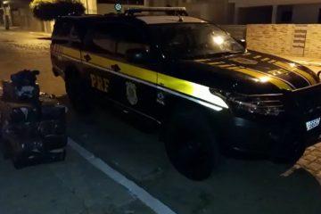 PRF 2 360x240 - Polícia Rodoviária Federal apreende quase 300 kg de maconha, no Sertão