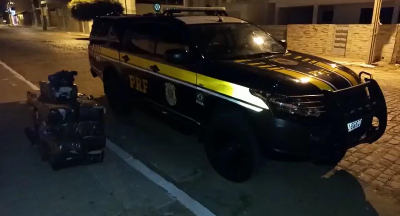 PRF 2 - Polícia Rodoviária Federal apreende quase 300 kg de maconha, no Sertão
