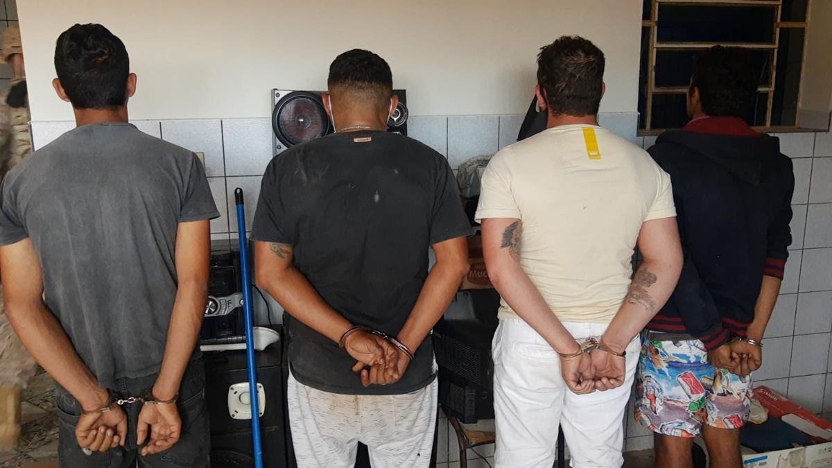 Presos - OPERAÇÃO RICE: Polícia prende homens suspeitos de crimes no município de Água Branca