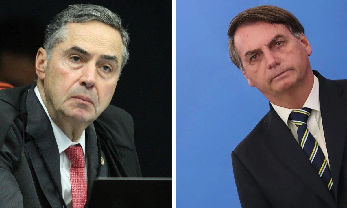 Untitled 12 2 - INDIRETA? Barroso cita livro sobre ditadura e 'Cálice' após Bolsonaro ameaçar eleição