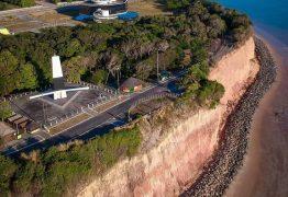 MAR VERMELHO: MPF recomenda que Prefeitura de João Pessoa reveja obra de contenção da barreira do Cabo Branco