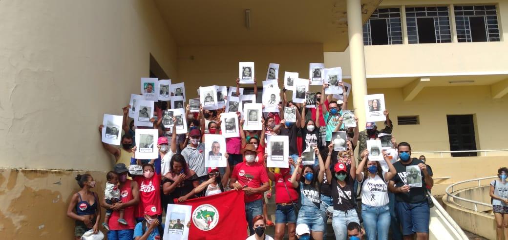 WhatsApp Image 2021 07 03 at 19.06.02 - HOMENAGEM E PROTESTO: Manifestações em JP contra Bolsonaro ganham destaque nacional por relembrar vítimas da Covid-19 - VÍDEO