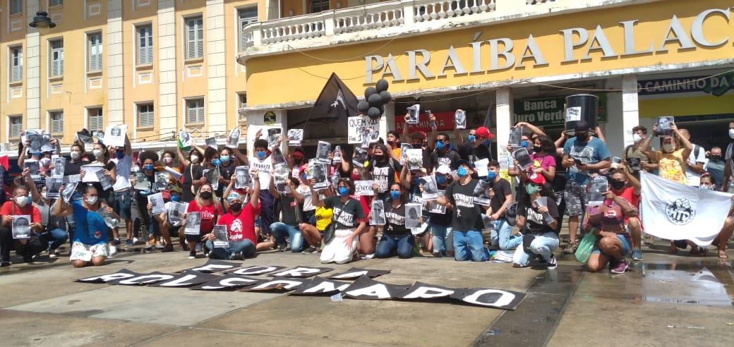 WhatsApp Image 2021 07 03 at 19.06.03 - HOMENAGEM E PROTESTO: Manifestações em JP contra Bolsonaro ganham destaque nacional por relembrar vítimas da Covid-19 - VÍDEO