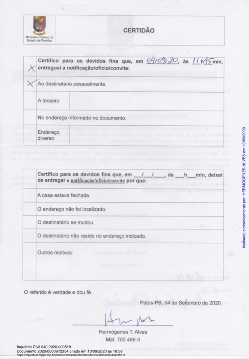 WhatsApp Image 2021 07 05 at 15.16.26 1 - Instituto Ágape, processa Paraíba Já por suposta Fake News, portal diz ter compromisso com a verdade, colecionando grandes investigações