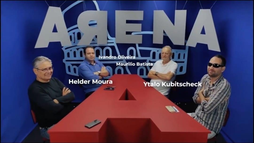 WhatsApp Image 2021 07 10 at 12.05.02 - POLÍTICA E COTIDIANO: Jornalistas lançam 'Arena' e prometem programa inovador e plural; VEJA VÍDEO