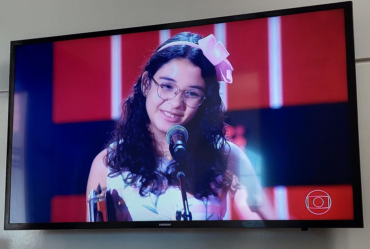WhatsApp Image 2021 07 11 at 14.20.06 1 - TALENTO DA TERRA: Helloysa do pandeiro representa bem a Paraíba no The Voice Kids