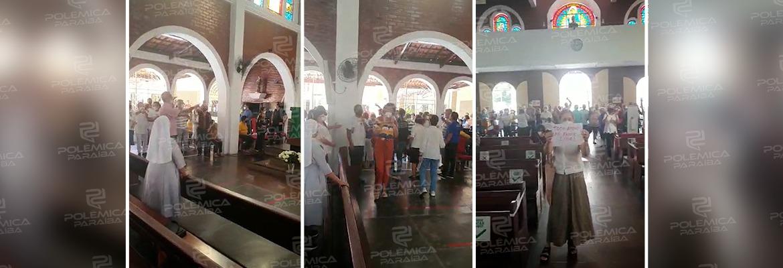 WhatsApp Image 2021 07 12 at 09.59.00 - Homem é expulso de igreja após se exaltar e gritar contra padres - VEJA VÍDEO