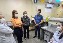 Secretária Ana Cláudia visita Hemocentro de Campina Grande e conclama população a doar mais sangue