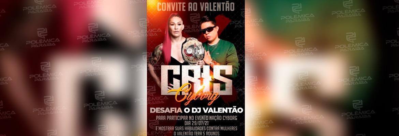 """WhatsApp Image 2021 07 14 at 10.55.09 - Lutadora de MMA Cris Cyborg desafia """"valentão"""" DJ Ivis para combate: """"Mostrar suas habilidades contra mulheres"""""""