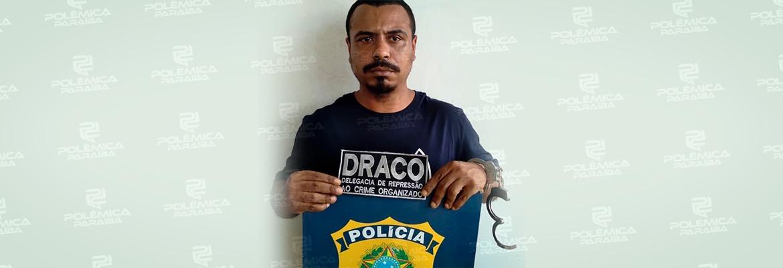WhatsApp Image 2021 07 14 at 14.06.22 - COMANDO VERMELHO: um dos traficantes mais procurados do RJ é preso na Paraíba; confira
