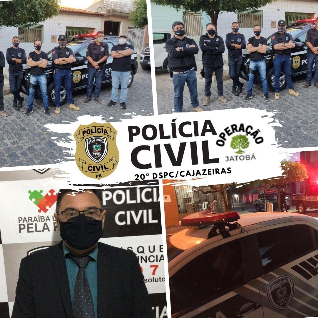 WhatsApp Image 2021 07 15 at 10.58.34 - Forças de Segurança desencadeiam Operação Policial em São José do Rio do Peixe e Monte Horebe - VEJA VÍDEO