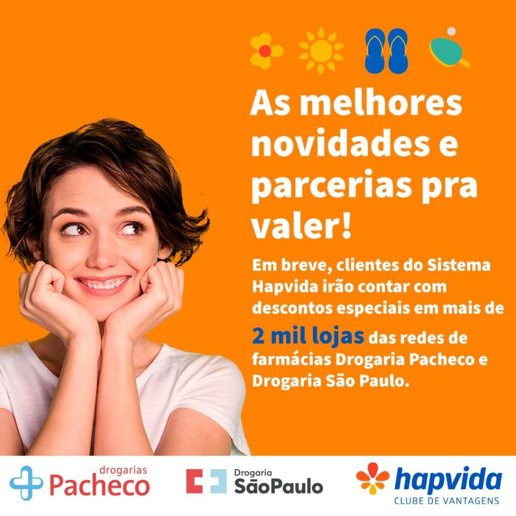 WhatsApp Image 2021 07 15 at 14.17.56 - Clube de Descontos do Hapvida terá, em breve, Drogarias Pacheco e Drogaria São Paulo como parceiras