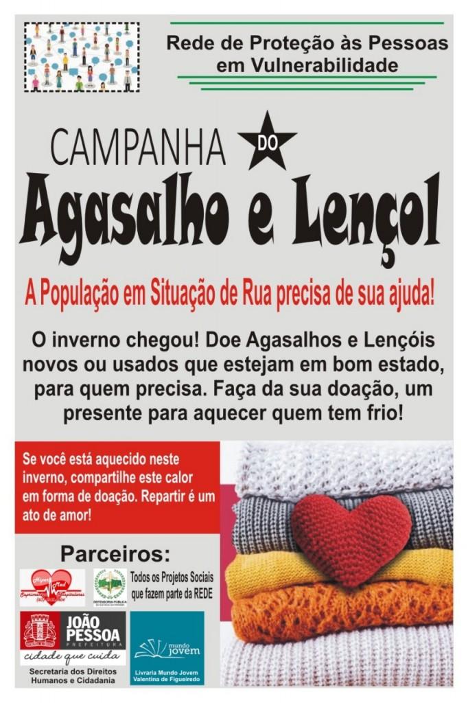 WhatsApp Image 2021 07 15 at 16.10.23 1 - SOLIDARIEDADE: campanha arrecada agasalhos para população em situação de rua em João Pessoa