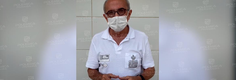 """WhatsApp Image 2021 07 16 at 12.06.07 - 500 MIL VACINAS: João Pessoa atinge a marca de meio milhão de doses aplicadas e Cícero comemora: """"Muita emoção"""" - VEJA VÍDEO"""