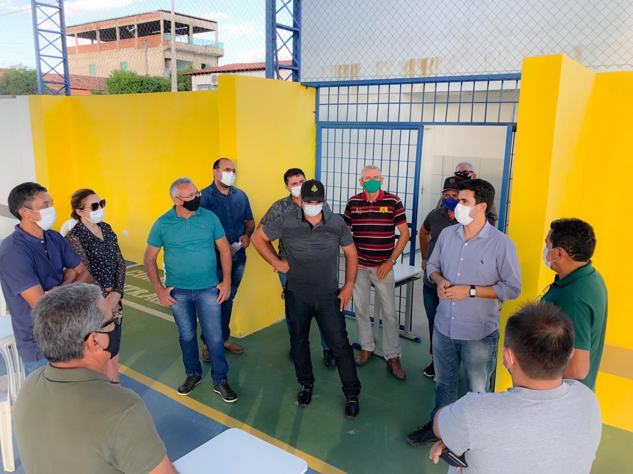 WhatsApp Image 2021 07 20 at 09.59.32 - Wilson Filho vai ao Vale do Piancó, visita obras e discute ações com lideranças da região