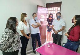Secretária Ana Cláudia visita Centro de Referência da Mulher e recebe anúncio da Patrulha Maria da Penha em Campina Grande no próximo mês