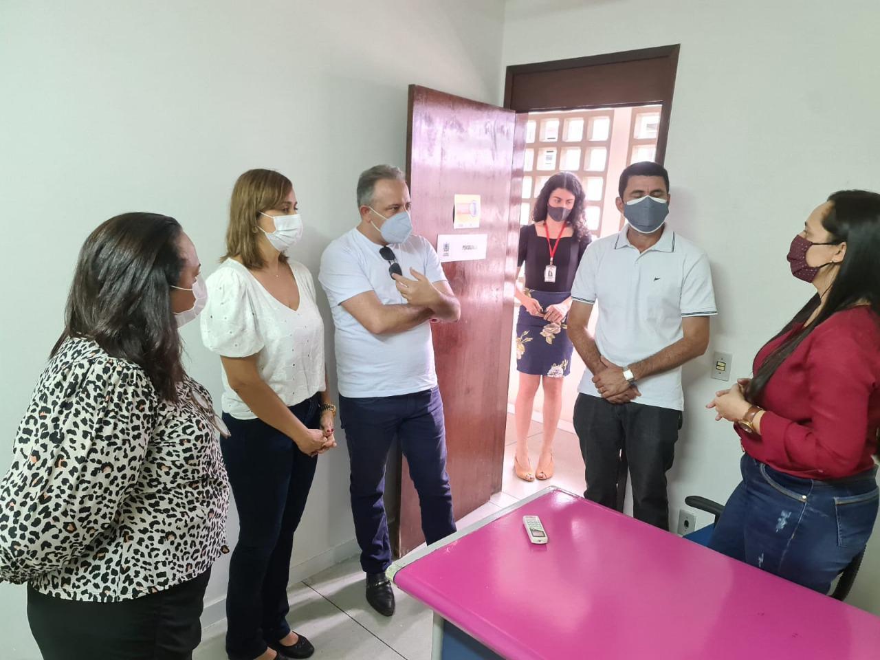 WhatsApp Image 2021 07 20 at 11.27.05 - Secretária Ana Cláudia visita Centro de Referência da Mulher e recebe anúncio da Patrulha Maria da Penha em Campina Grande no próximo mês