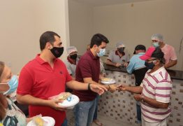 Com intermédio de Wilson Filho, Uiraúna ganha programa Tá na Mesa com 250 refeições por dia ao preço de R$ 1,00