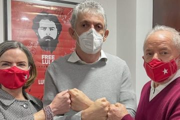 'ENCONTRO DE VELHOS COMPANHEIROS': à Arapuan FM, Gleisi confirma que Lula e Ricardo conversaram sobre eleições na Paraíba