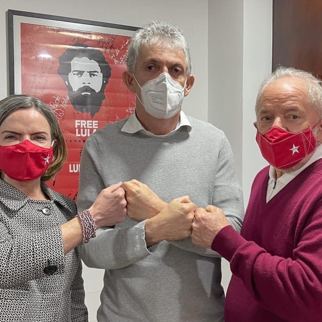 WhatsApp Image 2021 07 27 at 11.14.54 - 'ENCONTRO DE VELHOS COMPANHEIROS': Gleisi confirma que Lula e Ricardo conversaram sobre eleições na Paraíba