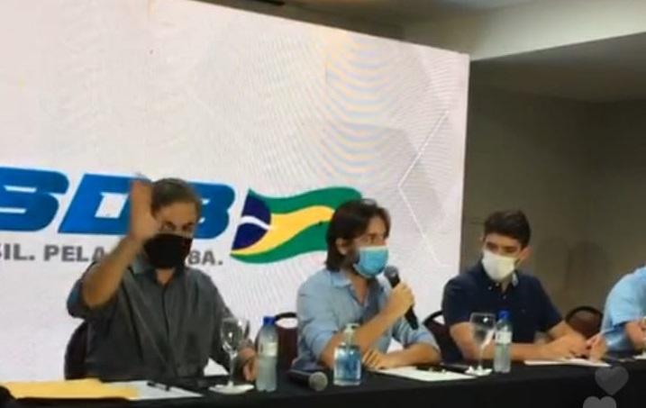 WhatsApp Image 2021 07 29 at 12.38.55 - PSDB anuncia apoio à pré-candidatura de Romero Rodrigues nas eleições de 2022; Cássio deixa candidatura em aberto