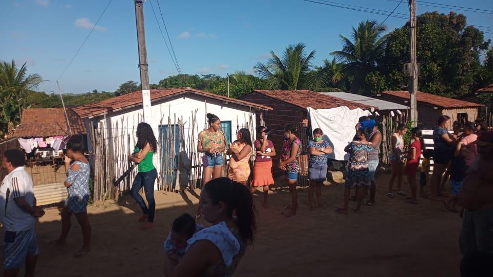 WhatsApp Image 2021 07 29 at 7.01.40 AM - Prefeitura de Conde entrega duas toneladas de alimentos para famílias em situação de vulnerabilidade social